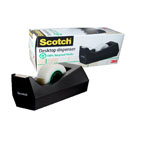 3M Scotch C-38 Tape Dispenser, Black