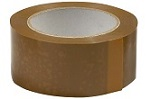 Brown Packaging Tape 2' x 50y