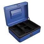 Carl Cash Box 8 inches, Blue