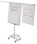 Magnetoplan Mobile Flip Chart Junior F14 700mm x 1000mm