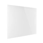 Magnetoplan glass 2 Write Magnetic Coloured Glass Board, 80cm x 60cm White