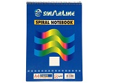 Sinarline Spiral Pad, Top Spiral A4, 70 Sheets