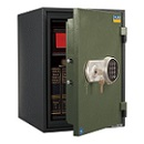 Valberg FRS-49 EL Fire Resistant Safe, Digital & Key Lock