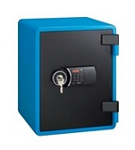 Eagle YES-031DK Fire Resistant Safe Digital and Key Lock Blue