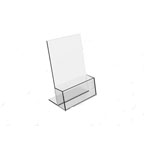 Acrylic Brochure Holder, 1 Tier, A4