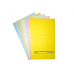 Alpha Square Cut Folder F/S, Yellow
