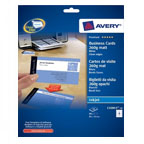 Avery Quick & Clean Business Card Double Sided Inkjet