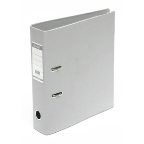 Bantex PVC Box File A4, Broad Grey