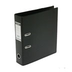 Bantex PVC Box File F/S, Broad Black
