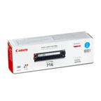 Canon 716 Cyan Toner Cartridge - 716C