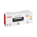 Canon 718 Yellow Toner Cartridge - 2659B002