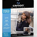 Canson Glossy Photo Paper A4, 210gsm 20/pack