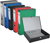Colored Rigid Closed Box File