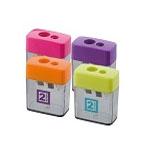 Deli 2 Hole Pencil Sharpener 0526