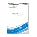 Delmon Shorthand Pad, Top Spiral, A5, , 70 Sheets, Line Ruled