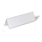 Durable Table Place Name Holder, 61/122 x 150 mm, Transparent