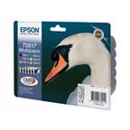Epson T0817N Multipack Ink Cartridges