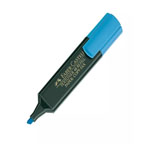 Faber Castell High Lighter Blue, 10/pkt