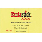 Fantastic Post It Pad 1.5x2inch FK-N152