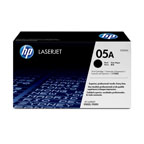 HP 05A Black Toner Cartridge - CE505A