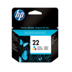 HP 22 Tri-Colour Ink Cartridge - C9352AE