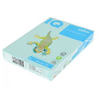 IQ Colored Copy Paper A4, 80gsm 500sheets/ream Blue