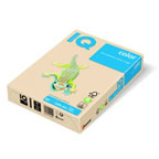 IQ Colored Copy Paper A4, 80gsm 500sheets/ream Cream