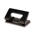 Kangaro 2 Hole Puncher DP-480, 12 Sheets Capacity, Assorted Colors