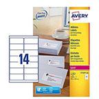 Avery Laser label L7163