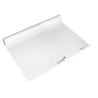 Legamaster Magic-ChartT, Electrostatics Sheets With Grid Lines, 80 X 60 cm, 25 Per Roll