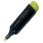 Maxi High Lighter, Green, 10/pkt