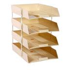 Omega PVC Paper Tray 4- Tier