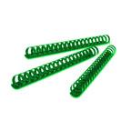 Partner 10mm Comb Binding Rings, 100/box, Green