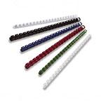 Partner 10mm Comb Binding Rings, 100/box, White
