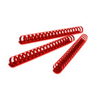 Partner 12mm Comb Binding Rings, 100/box, Red