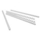 Partner 12mm Comb Binding Rings, 100/box, White