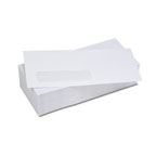 White Envelope With Left Window, 115x225mm, 250/Box