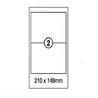 Xellent 2 Label/sheets, 210x148mm  100sheets/pack